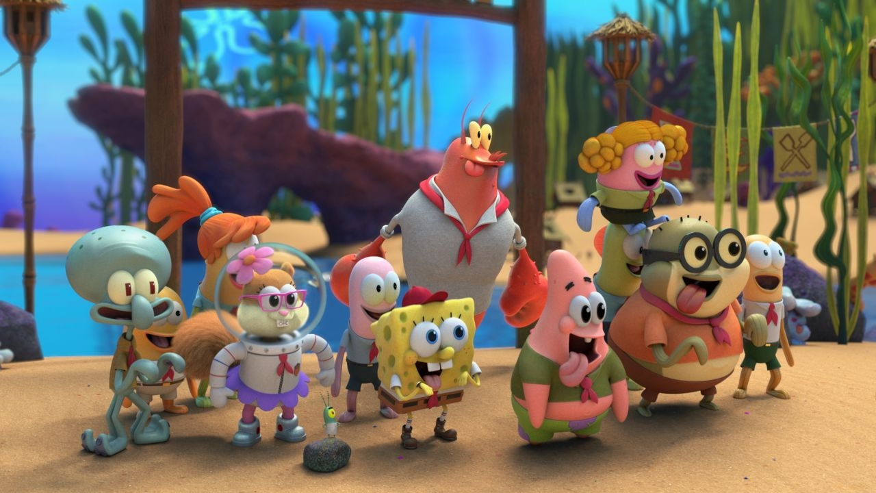 Paramount Plus to Premiere New Episodes of 'Kamp Koral: SpongeBob's Under Years' from July 22