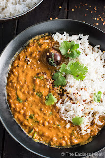 vegetarian lentil recipe lentil curry