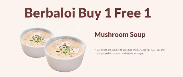 Berbaloi Puasa Buy 1 Free 1 Mushroom Soup