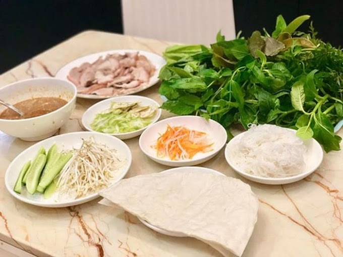Đặc sản bánh tráng cuốn - Tây Ninh mang hương vị của riêng vùng đất này