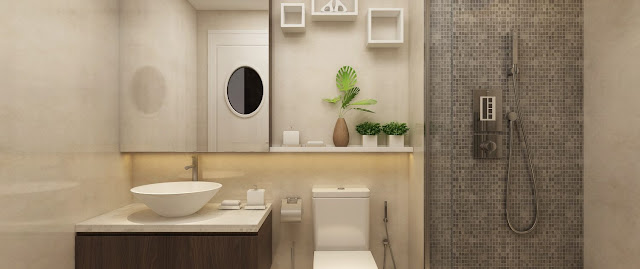 Phòng tắm - Imperia Eden Park - Mễ Trì