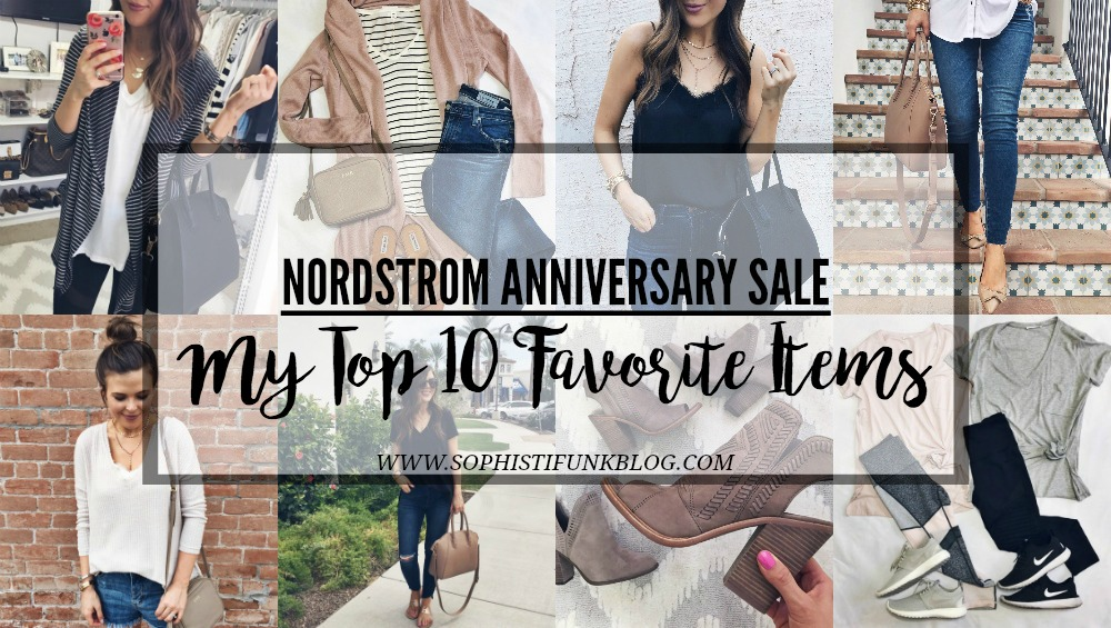Nordstrom Anniversary Sale: My Top 10 Favorite Items