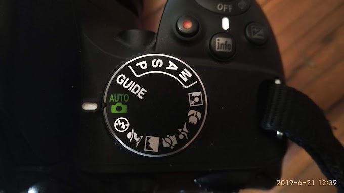 Memilih Mode Auto Tanpa Flash Internal Nikon D3200