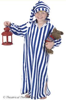 Wee Willie Winkie Nightshirt Kids Costume from Theatrical Threads Ltd