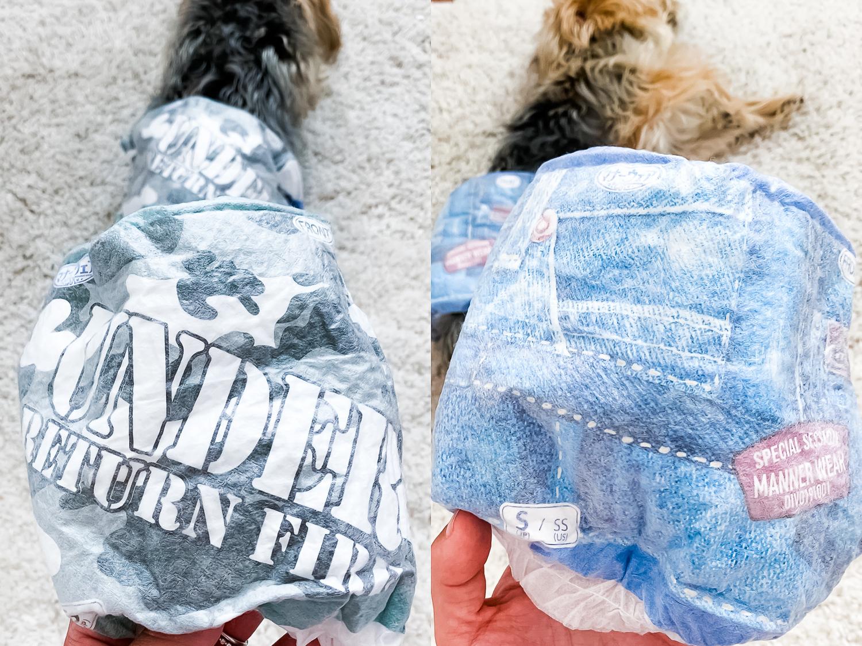 Hartz Dog Diapers - Chasing Cinderella