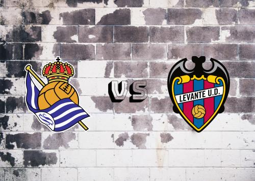 Real Sociedad vs Levante  Resumen
