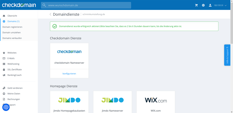 Erfolgreicher Umzug von Blogger auf eigene Domain