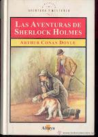 Resultado de imagen para las aventuras de sherlock holmes arthur conan doyle altaya