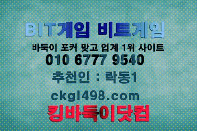 비트게임은 역시 킹바둑이닷컴