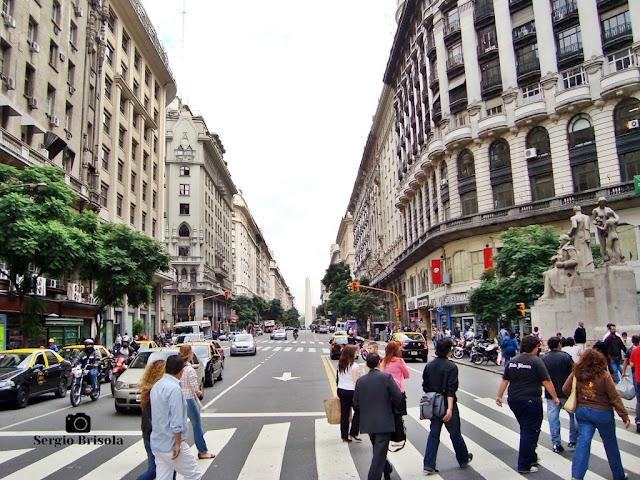 Avenida Pres. Roque Sáenz Peña - Buenos Aires