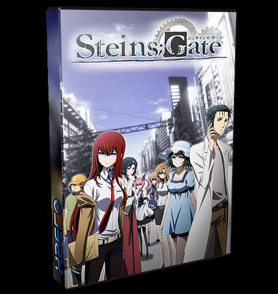 Steins Gate - Steins;Gate | 24/24 + Especial + β | BD + VL | Mega / 1fichier