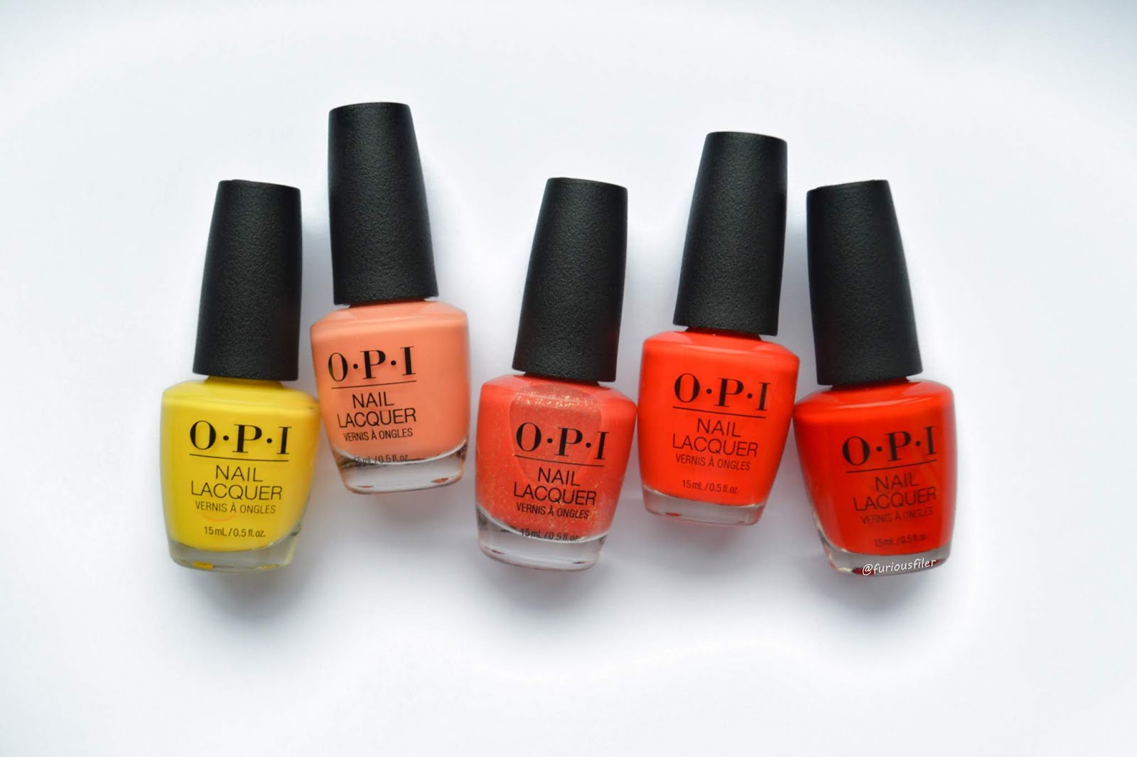 opi mexico city nail laquer gradient review