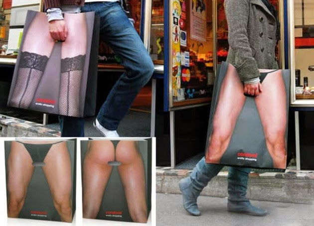 Bagvertising creativo, Condomi