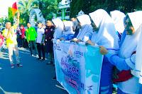 Semarakkan HKN ke-55, Dikes Kota Bima Gelar Jalan Santai Bersama