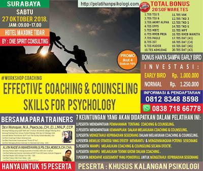 Pelatihan Alat Tes Psikologi 2018