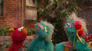 Elmo, Rosita, Rosita's abuella, Sesame Street Episode 4417 Grandparents Celebration season 44