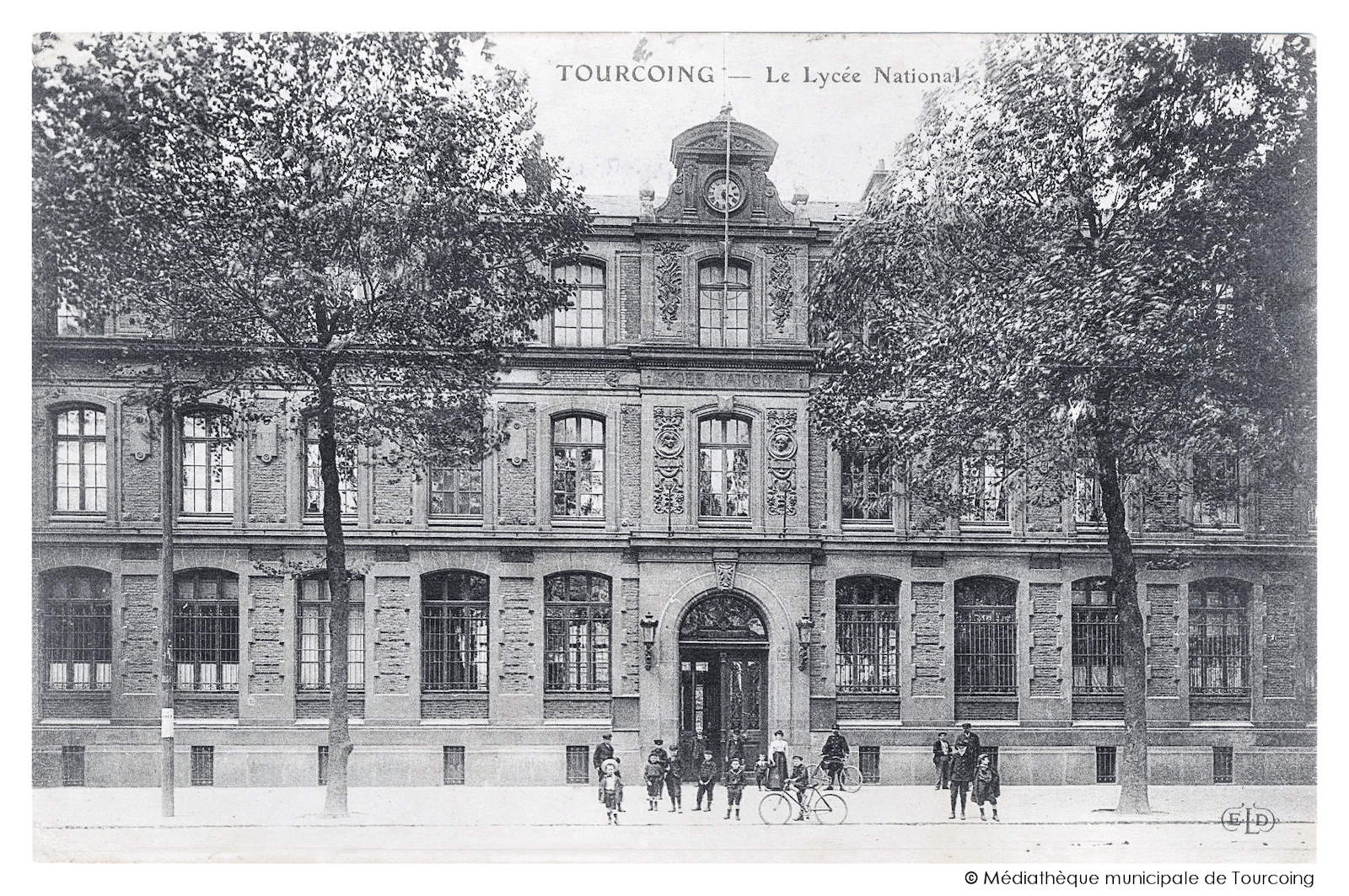 Carte Postale Ancienne - Lycée National, Tourcoing