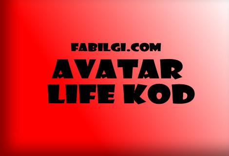 Avatar life Kod Hilesi Ücretsiz 1 Adet Nisan 2020 + Video
