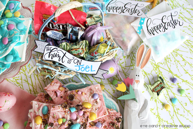 how to make an easter basket, Spring Mixed Minis, M&M'S®, easter banner