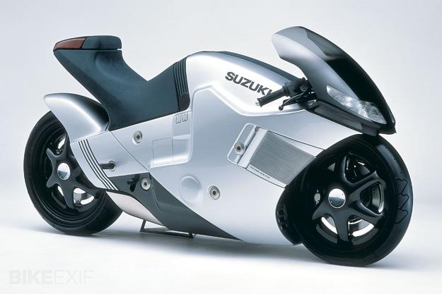 Suzuki Nuda Concept Bike - Pandangan Sisi Kanan