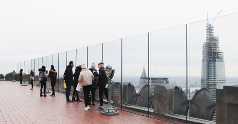 Top of the Rock Observation Deck NYC