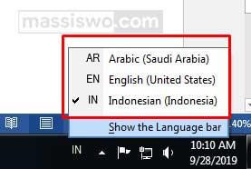 Mengubah Keyboard Arab Di Komputer