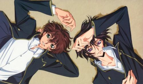 Friendship: Code Geass - Lelouch vi Britannia & Suzaku Kururugi