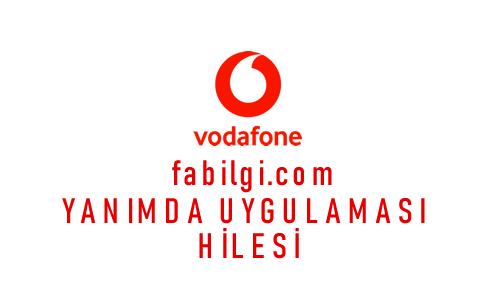 Vodafone Bedava İnternet İstediğin Kadar Yanımda Uygulaması Açma 2020