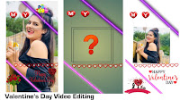 Valentine's day video editing   Valentines day video editing kese kare