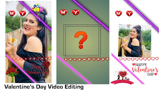 Valentine's day video editing | Valentines day video editing kese kare