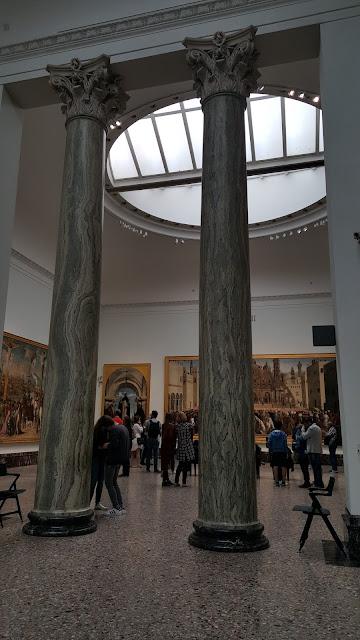 Salão da Pinacoteca de Brera
