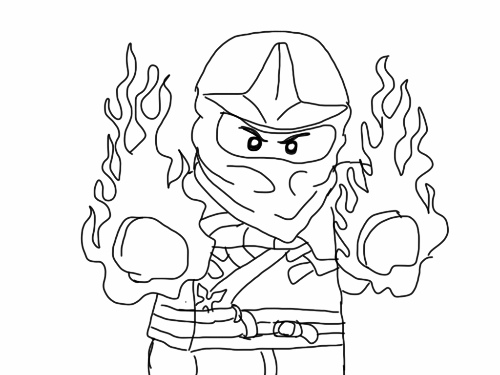 all ninjago printable coloring pages - photo#14