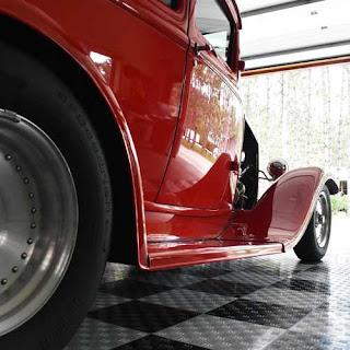 Greatmats garage floor car show event flooring