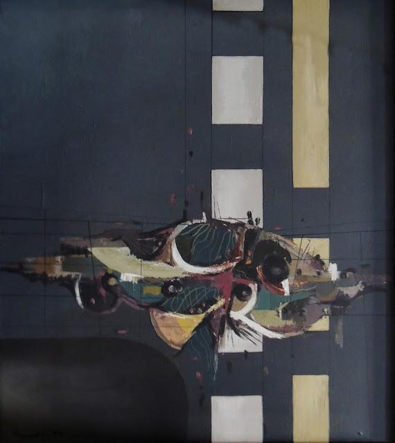 Agustín Penadés artista pintura informalista abstracta