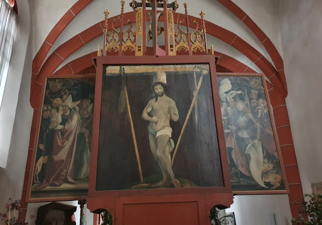 Grünewald-Altar Lindenhardt - Rückseite