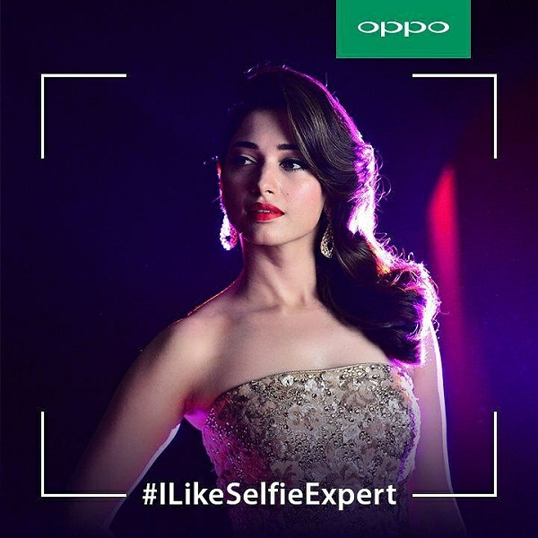 Tamanna Bhatia Oppo Images