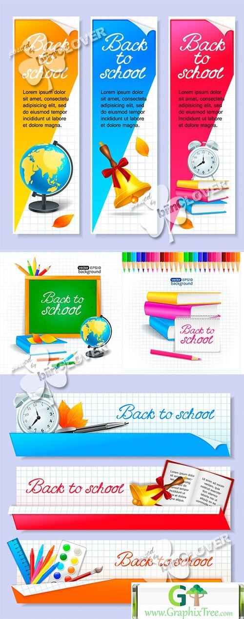 Vector School illustrations 0465