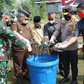 Polda Maluku Utara Gelar Pemusnahan Barang Bukti Operasi Pekat Kieraha 2021