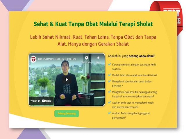 Pelatihan Terapi Gerakan Sholat untuk meningkatkan Vitalitas Pria di Jakarta Timur