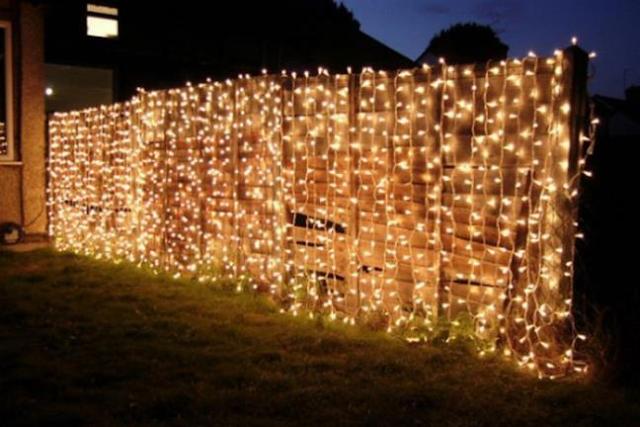 cách trang trí tường rào
