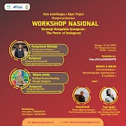 WORKSHOP NASIONAL GRATIS Strategi Mengelola Instagram