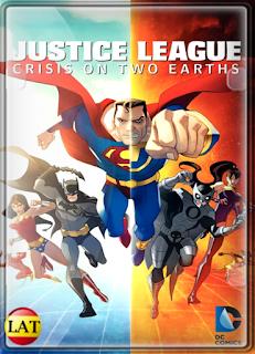 Liga de la Justicia: Crisis en las Dos Tierras (2010) DVDRIP LATINO