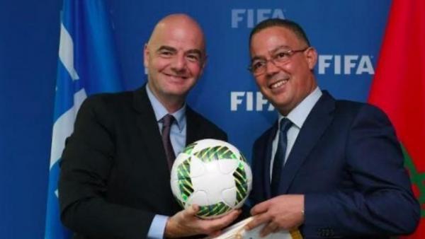 """هكذا تحاول الجزائر وضع العراقيل أمام """"لقجع"""" لكي لا يفوز بمنصب هام بـ""""الفيفا"""""""