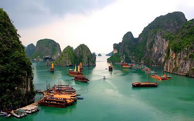 Hd Desktop Wallpaper: Halong Bay, Vietnam