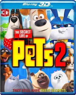 La Vida Secreta de tus Mascotas 2 [BD25 3D] *Con Audio Latino