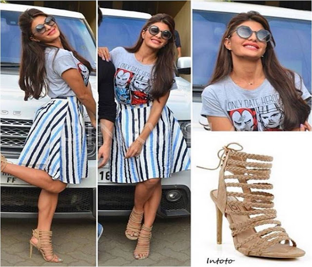 Jacqueline Fernandez at A Flying Jatt Promotions