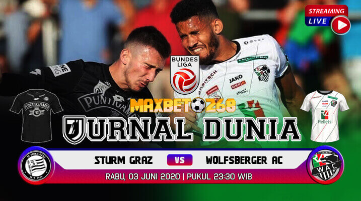 Prediksi Bola Sturm Graz Vs Wolfsberger AC 03 Juni 2020 Pukul 23.30 WIB