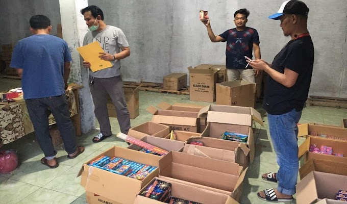 Jelang Ramadhan, Ribuan Petasan Berhasil Diamankan Jajaran Polres Serang Kota