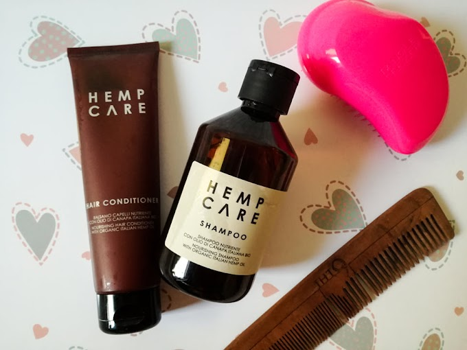 HEMP CARE | Szampon i odżywka z organicznym olejem konopnym