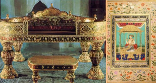 Singgahsana Merak Shah Jahan